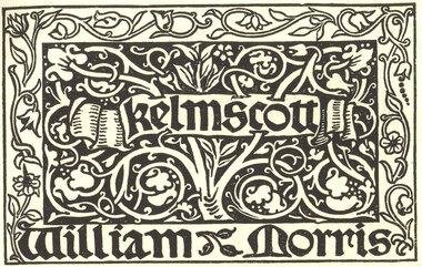 William Morris Kelmscott Printers Mark
