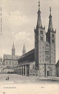 Wuerzburg Dom 1904