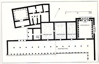 Pergamos library floorplan
