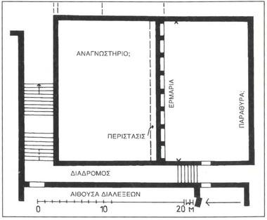 Rodes Gymnasium floorplan