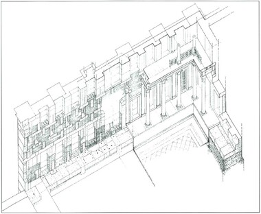 Hadrians library plan of main room