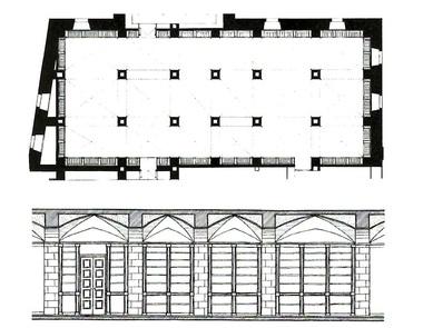Monastery Patmos floorplan