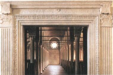 Malatestiana entrance portal