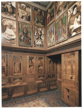 Federico da Montefeltro Studiolo