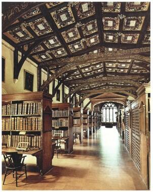 Bodleian interior contemporary view