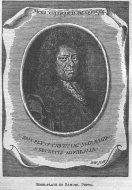 bookplate pepys